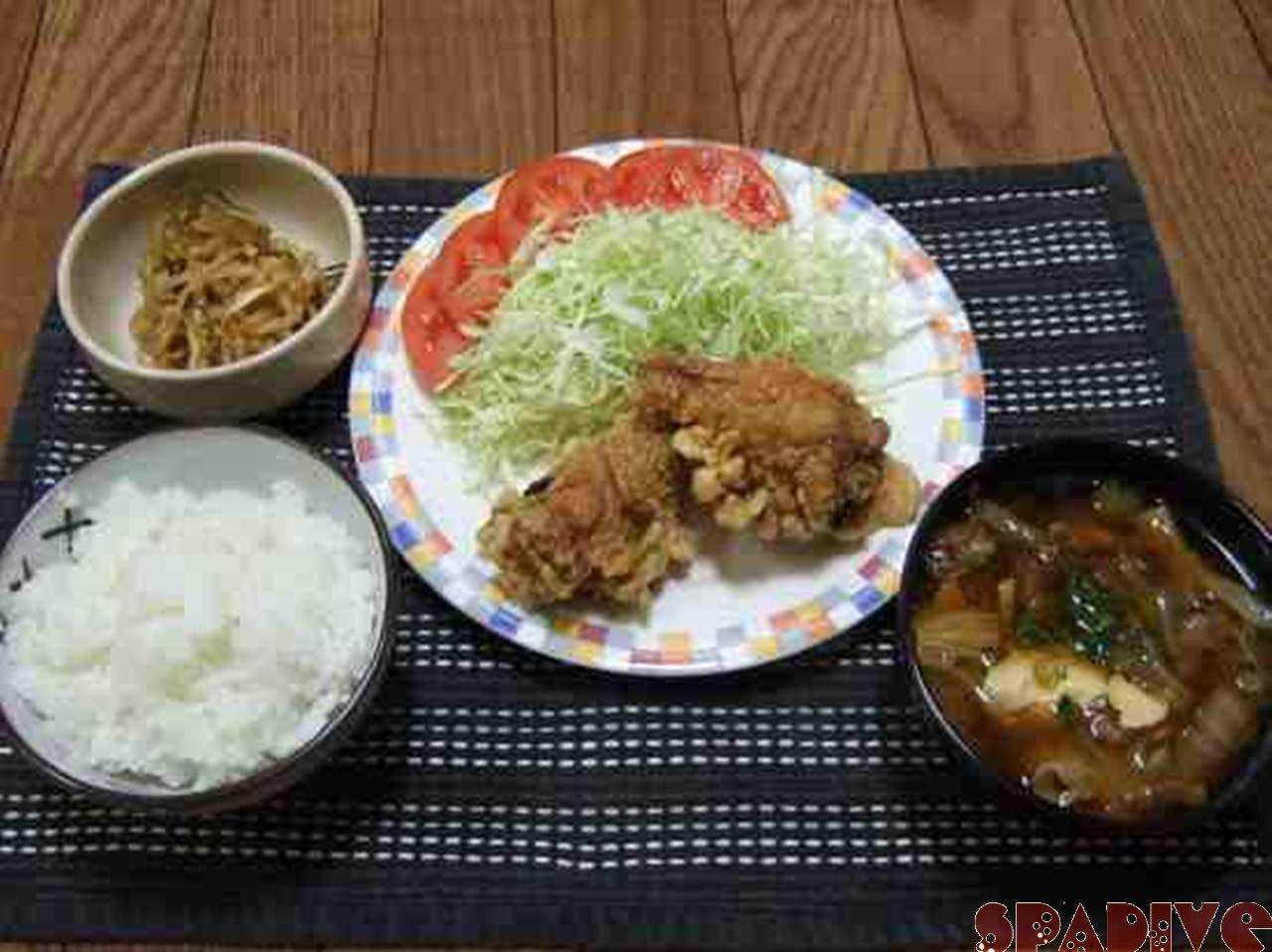 昨日の晩ご飯!!12/03/2008