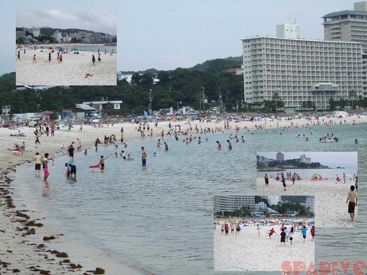 白ら浜-7月最初の週末 7/5/2008