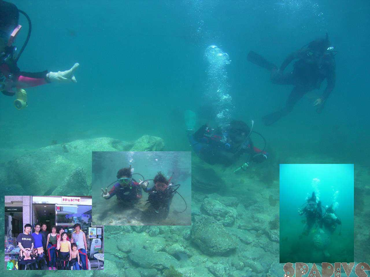 体験ダイビング&スクーバダイバー&DM講習など|5/4/2008白浜
