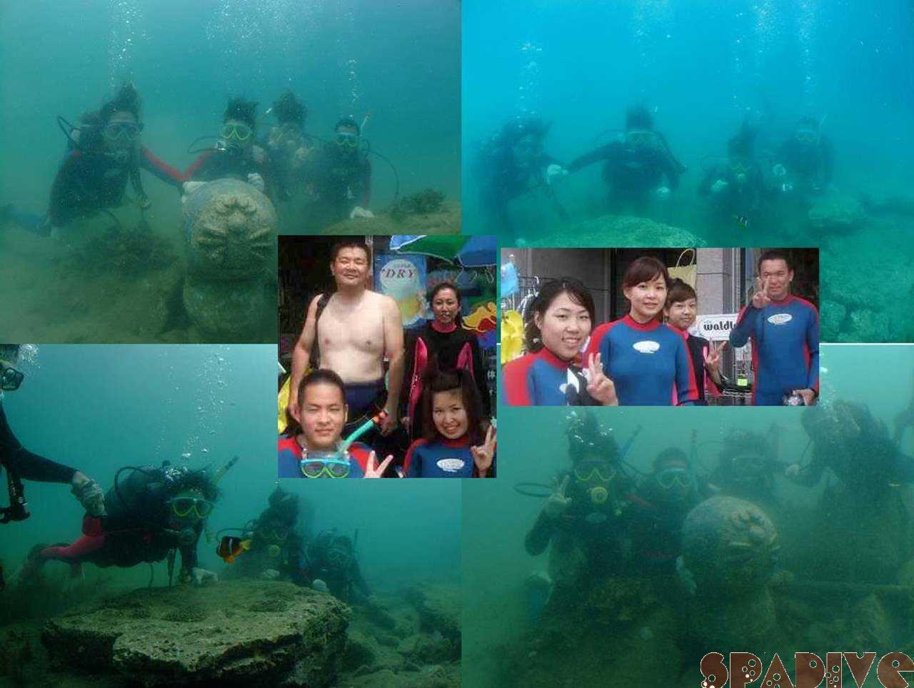 体験ダイビング|8/2/2008南紀白浜権現崎