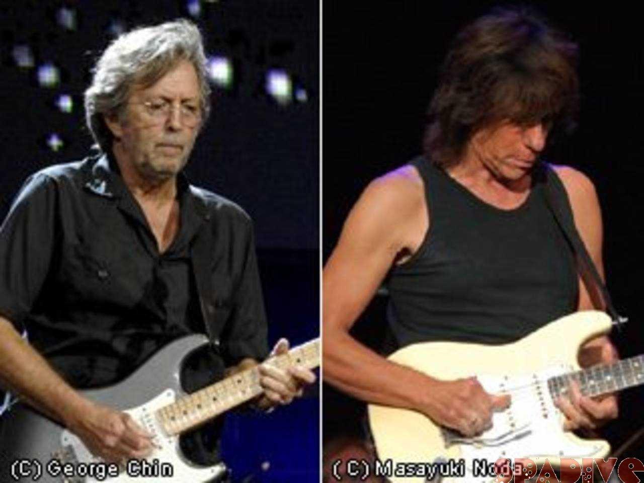 Eric ClaptonとJeff Beckが日本で共演!