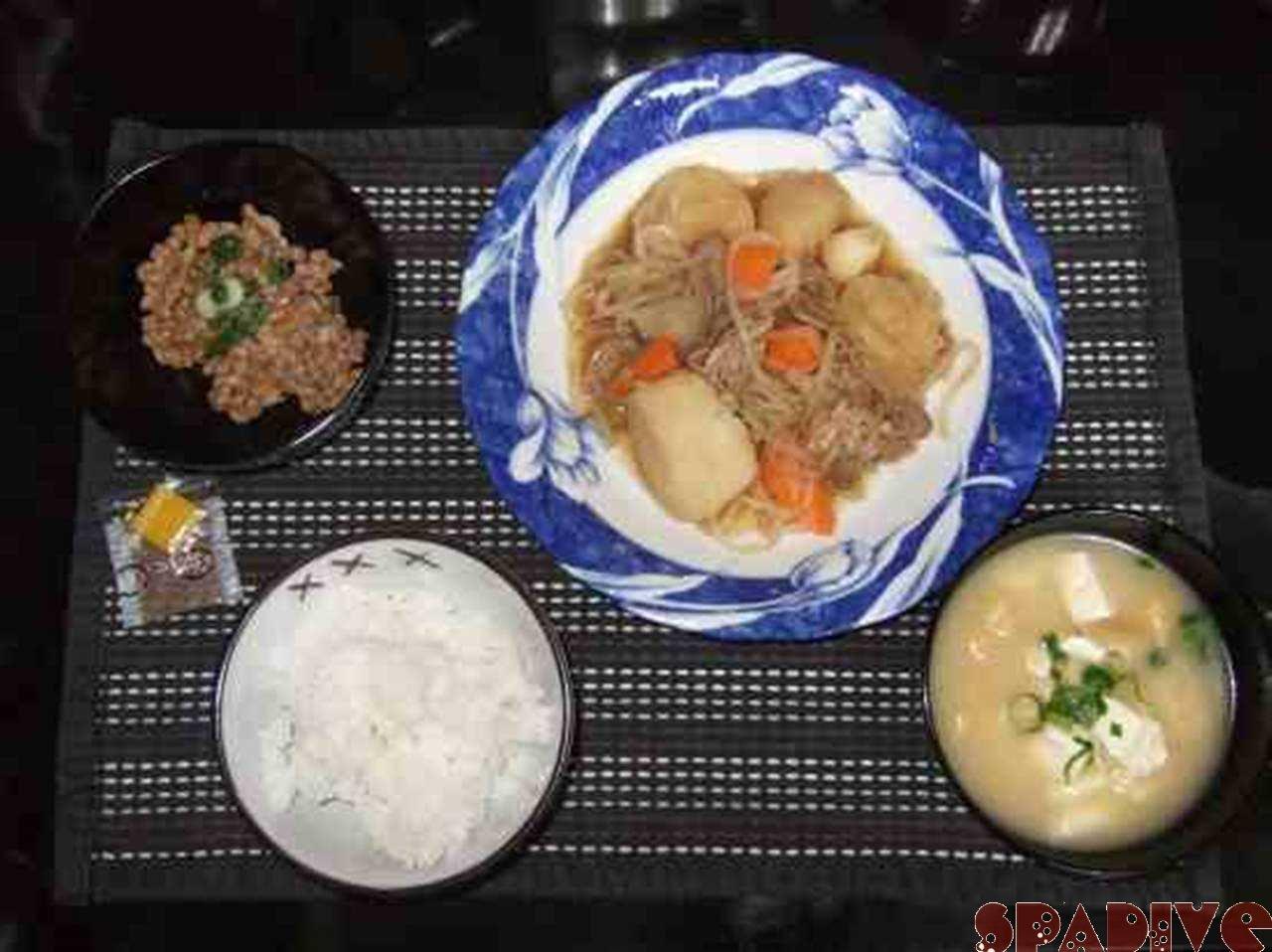久しぶりの晩ご飯!!3/22/2009