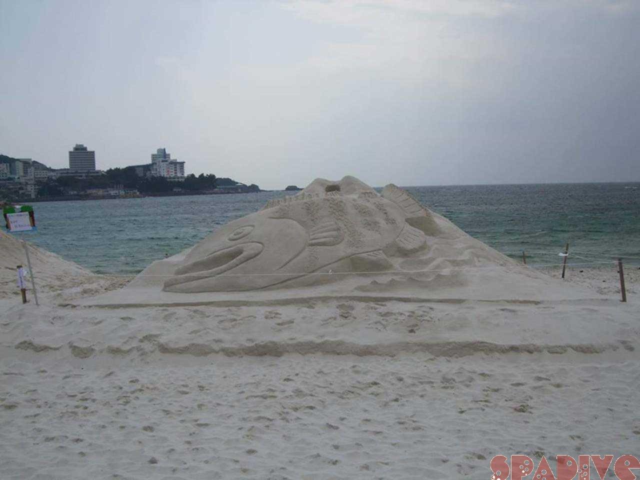 毎年恒例の「砂まつり大会」第41回|05/24/2009白良浜
