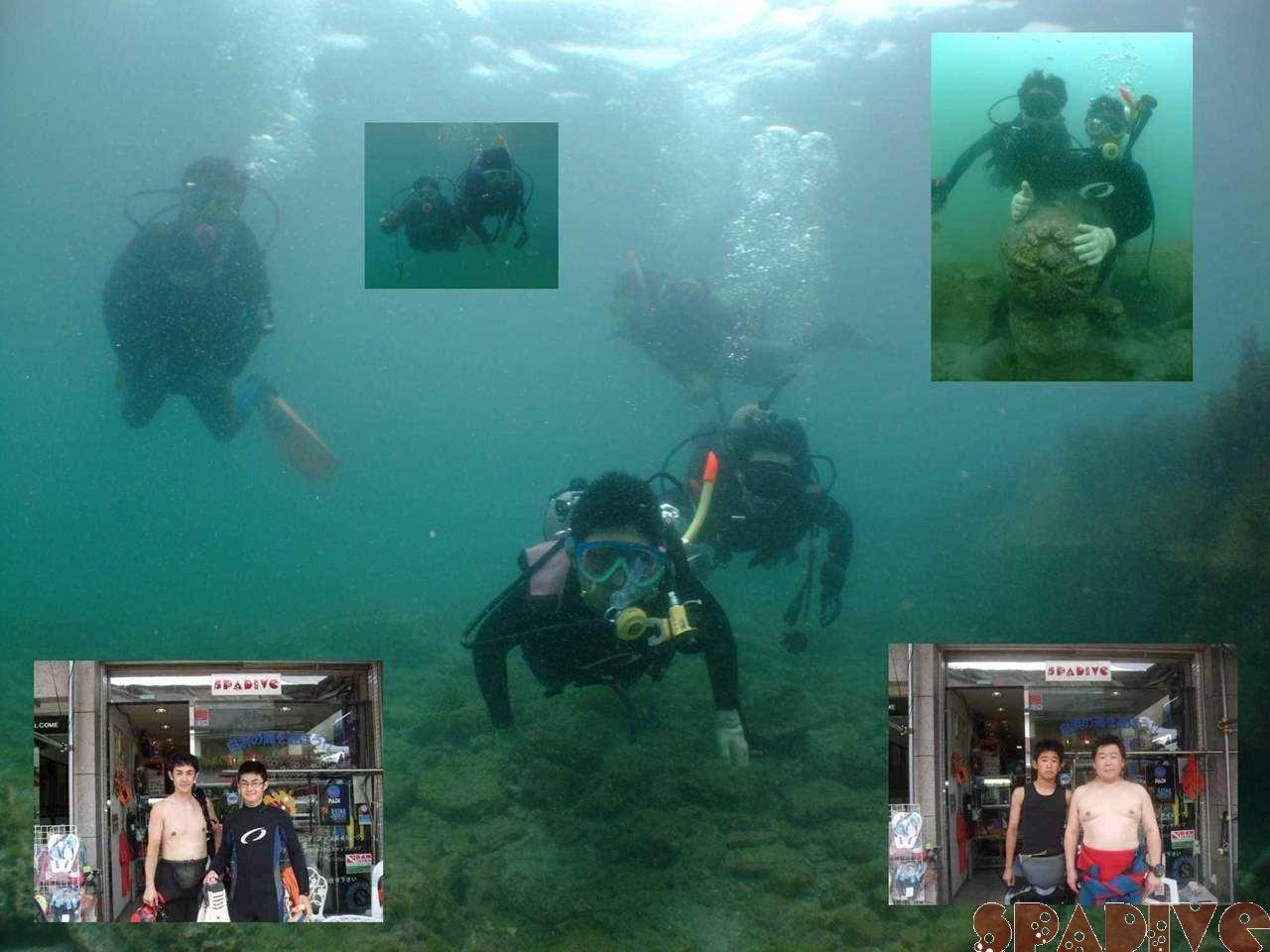 体験ダイビング&アドバン取得コース|7/11/2009白浜 権現崎