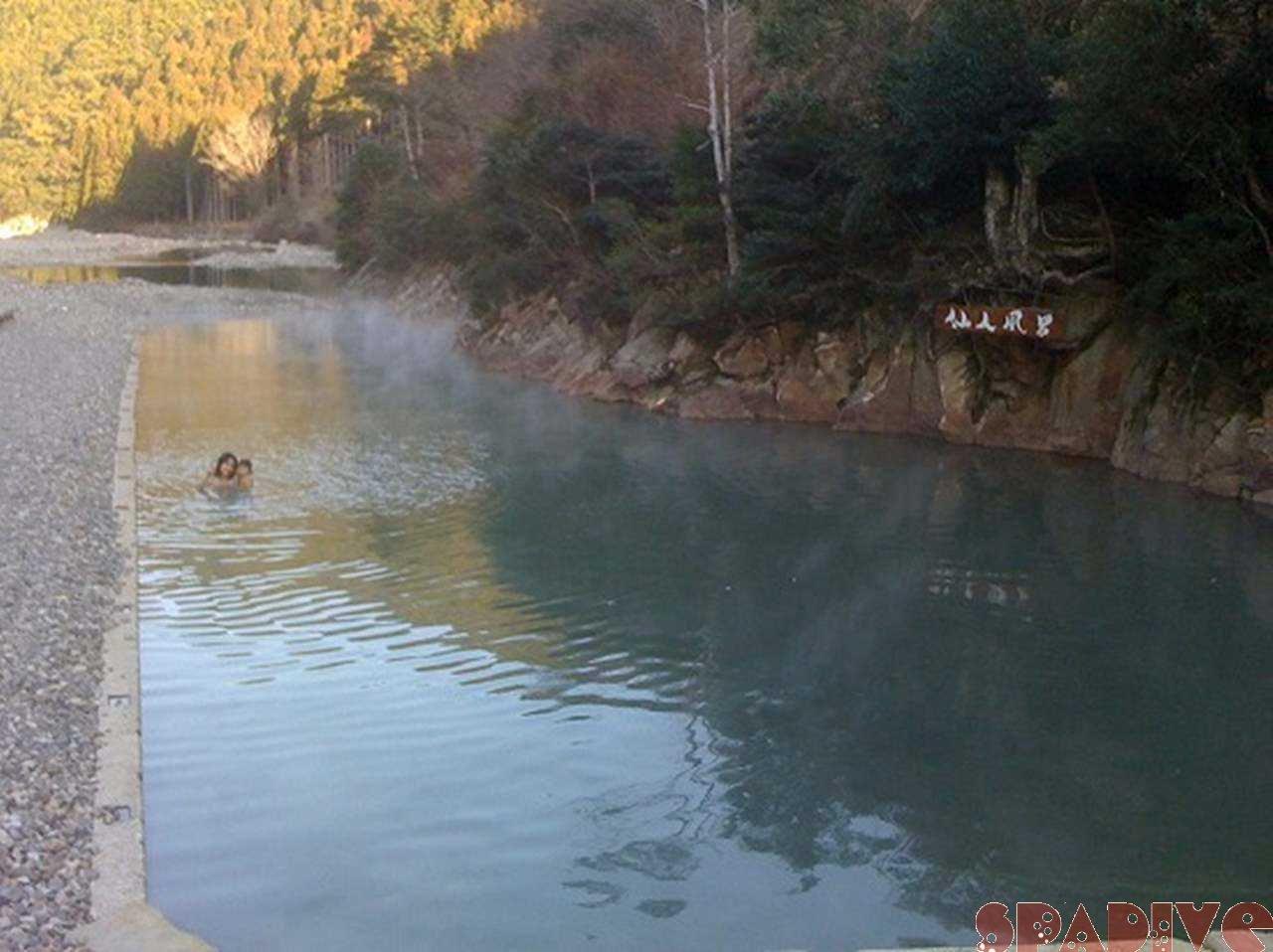 熊野古道~本宮大社~川湯温泉『仙人風呂』へ 1/26/2010