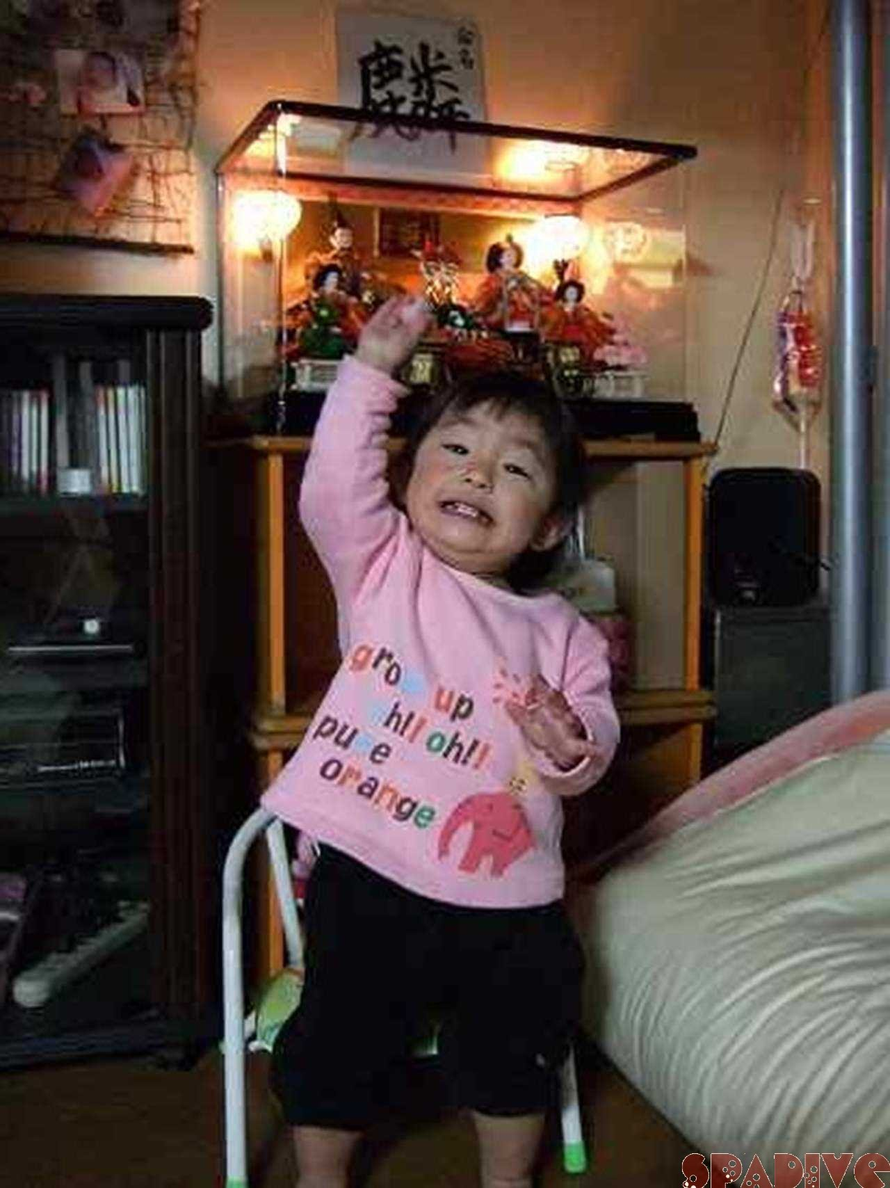 娘が産まれて2回目の雛祭り|3/4/2010