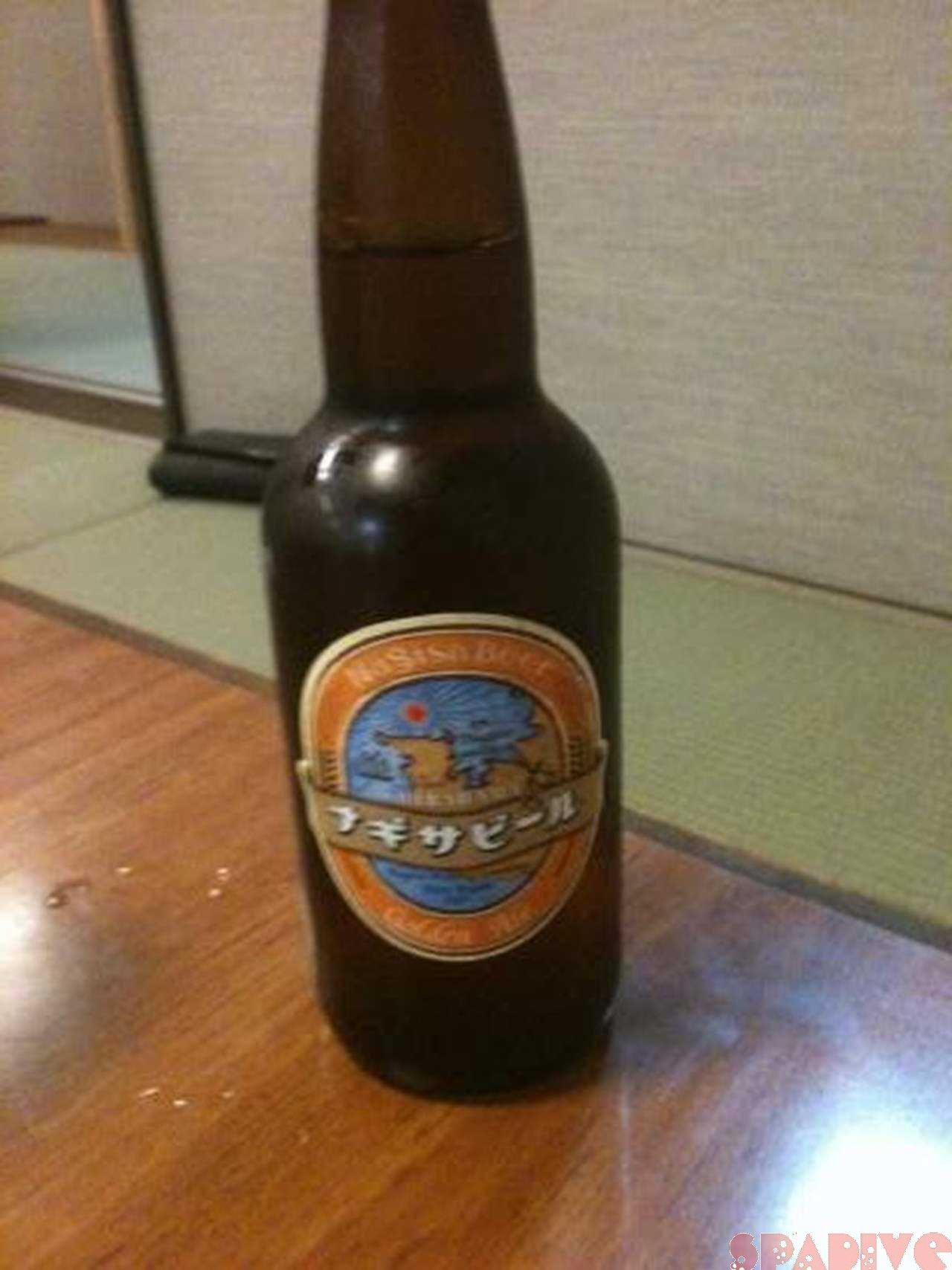 日本に元気を!期間限定ナギサビール「ゴールデンエール」4/28/2011