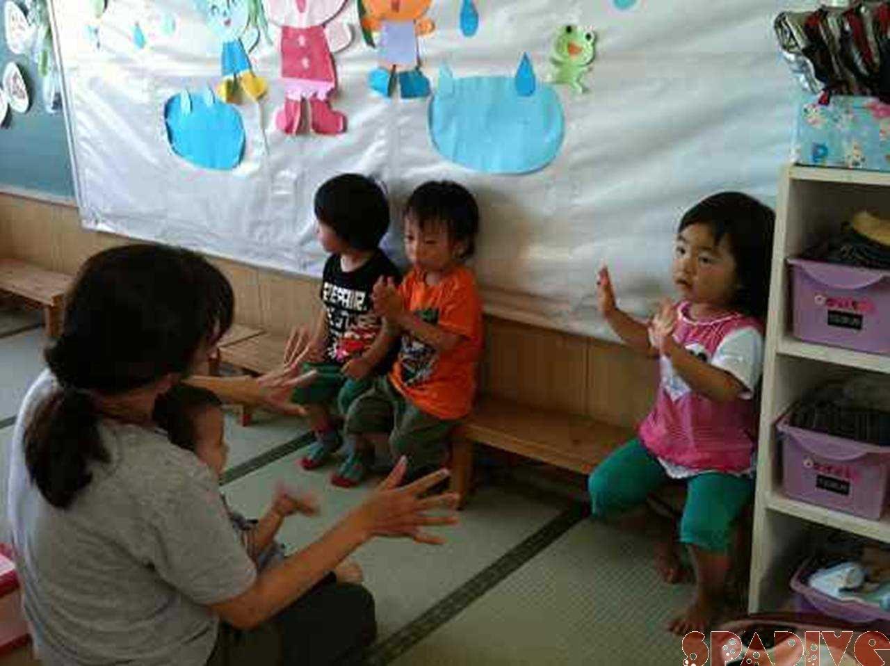 保育園の参観日→アドベンチャーワールド♪6/24/2011