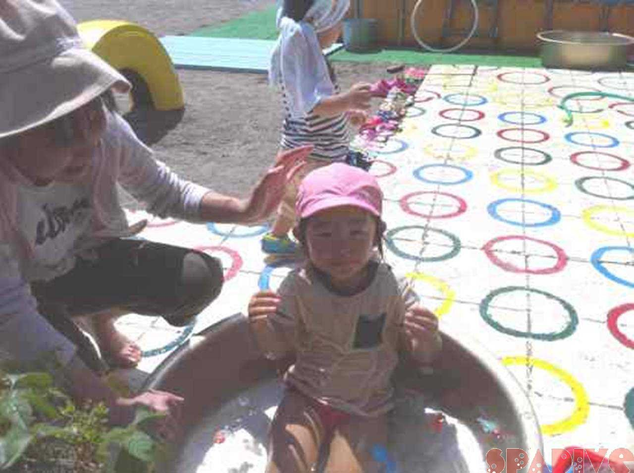 台風9号 (ムイファー)クローズ|保育園プール参観日へ|8/3/2011