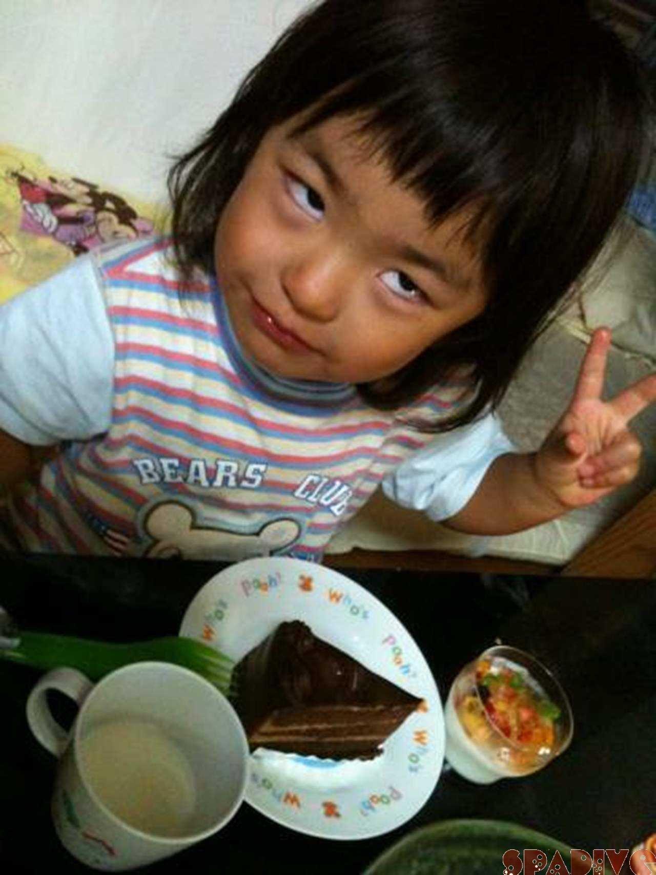 長女3歳の誕生日♪9/26/2011