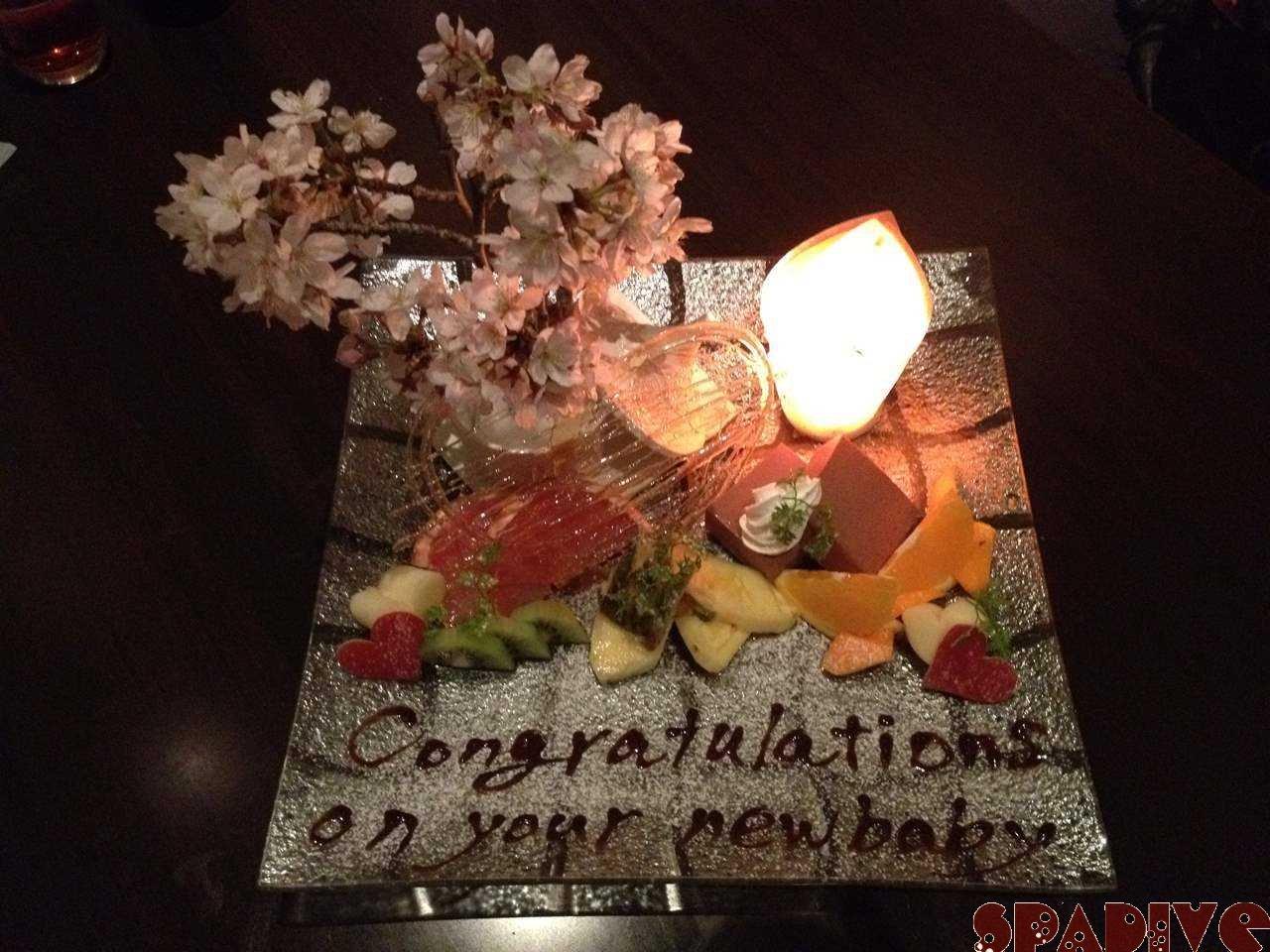 フルーツ盛り合わせ♪煌-KIRA-さんで食事|4/7/2012