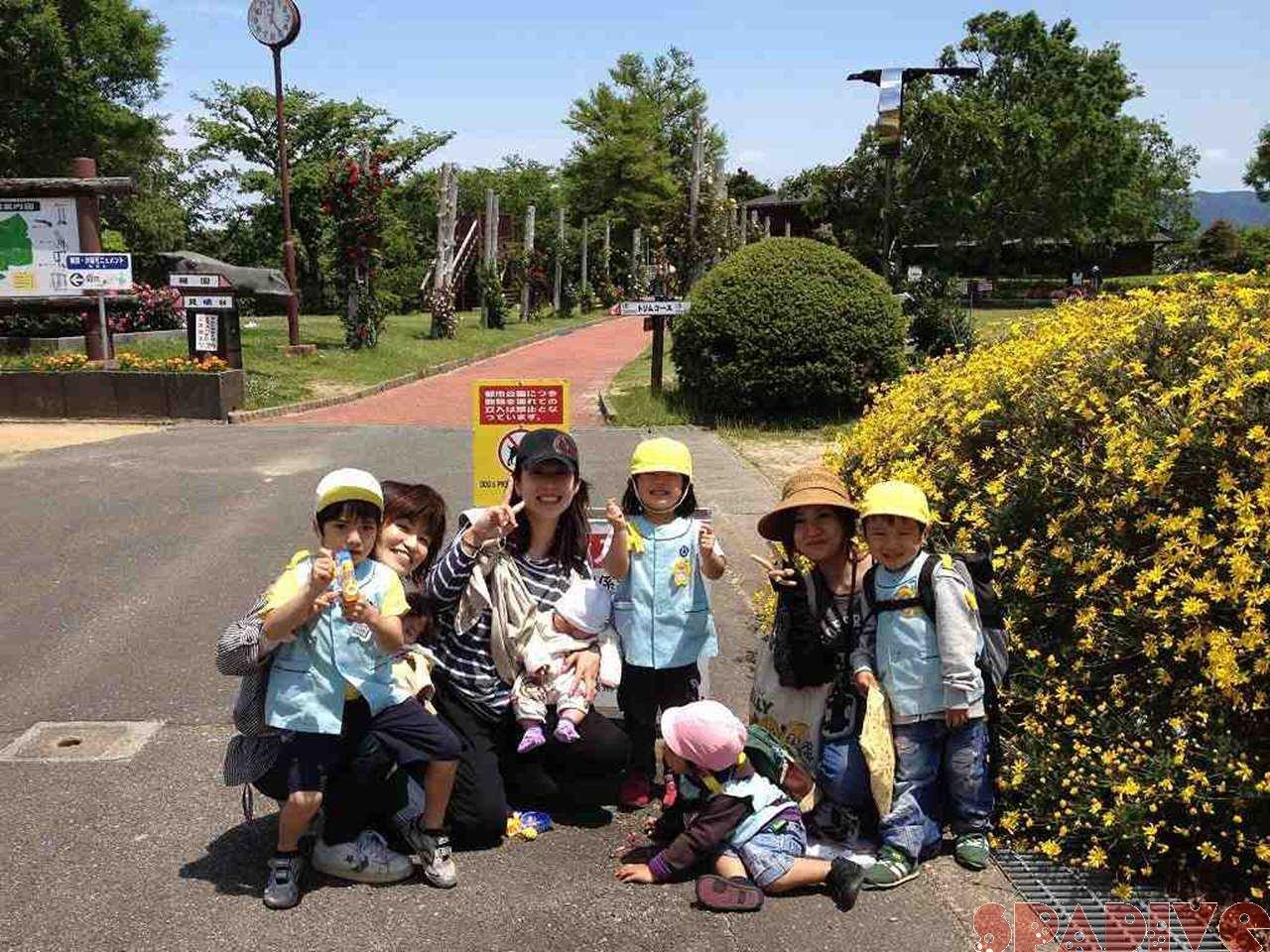 保育園の親子遠足|平草原公園|2012/5/14