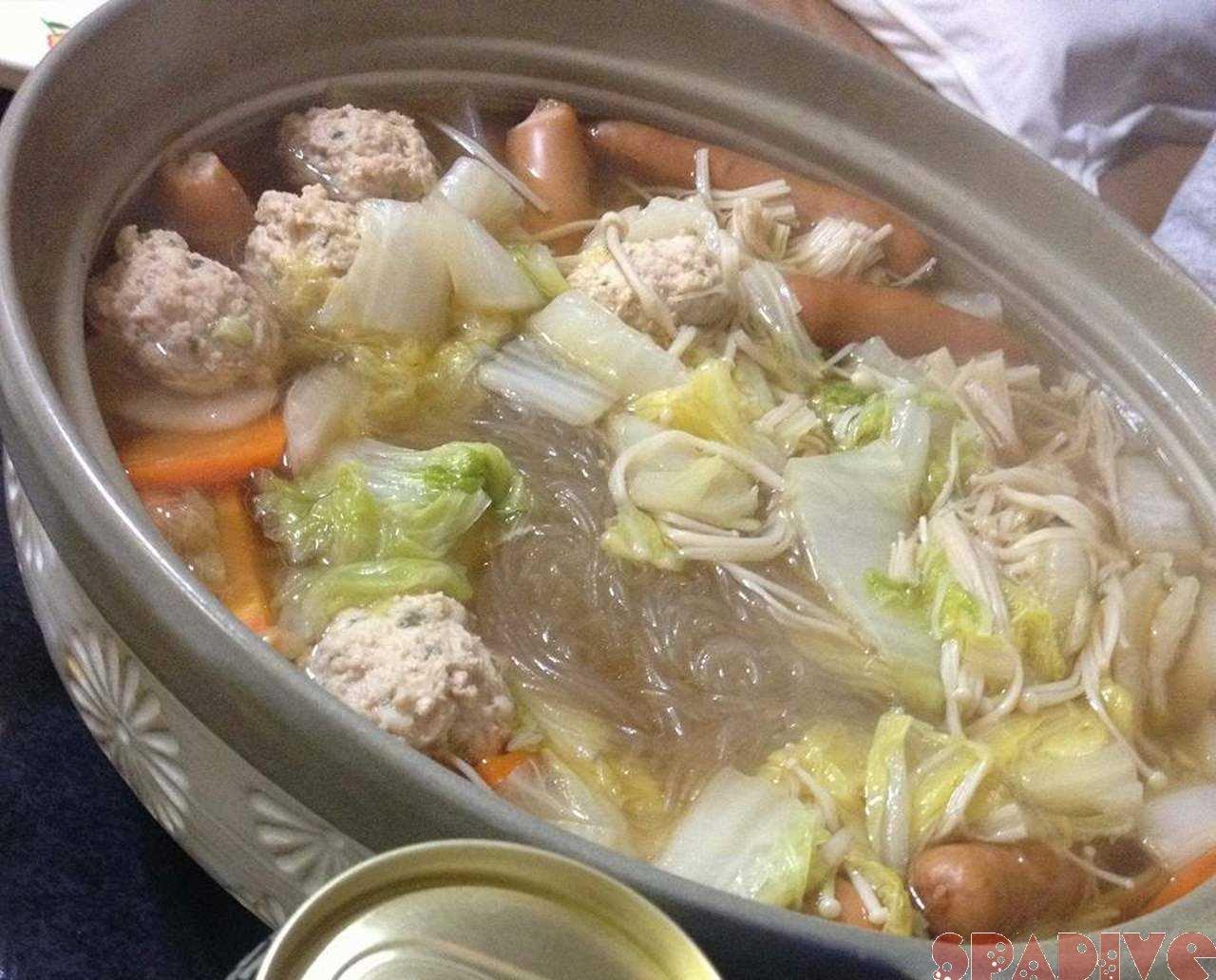 お鍋の季節♪ポッカポカ寄せ鍋♪11/28/2012