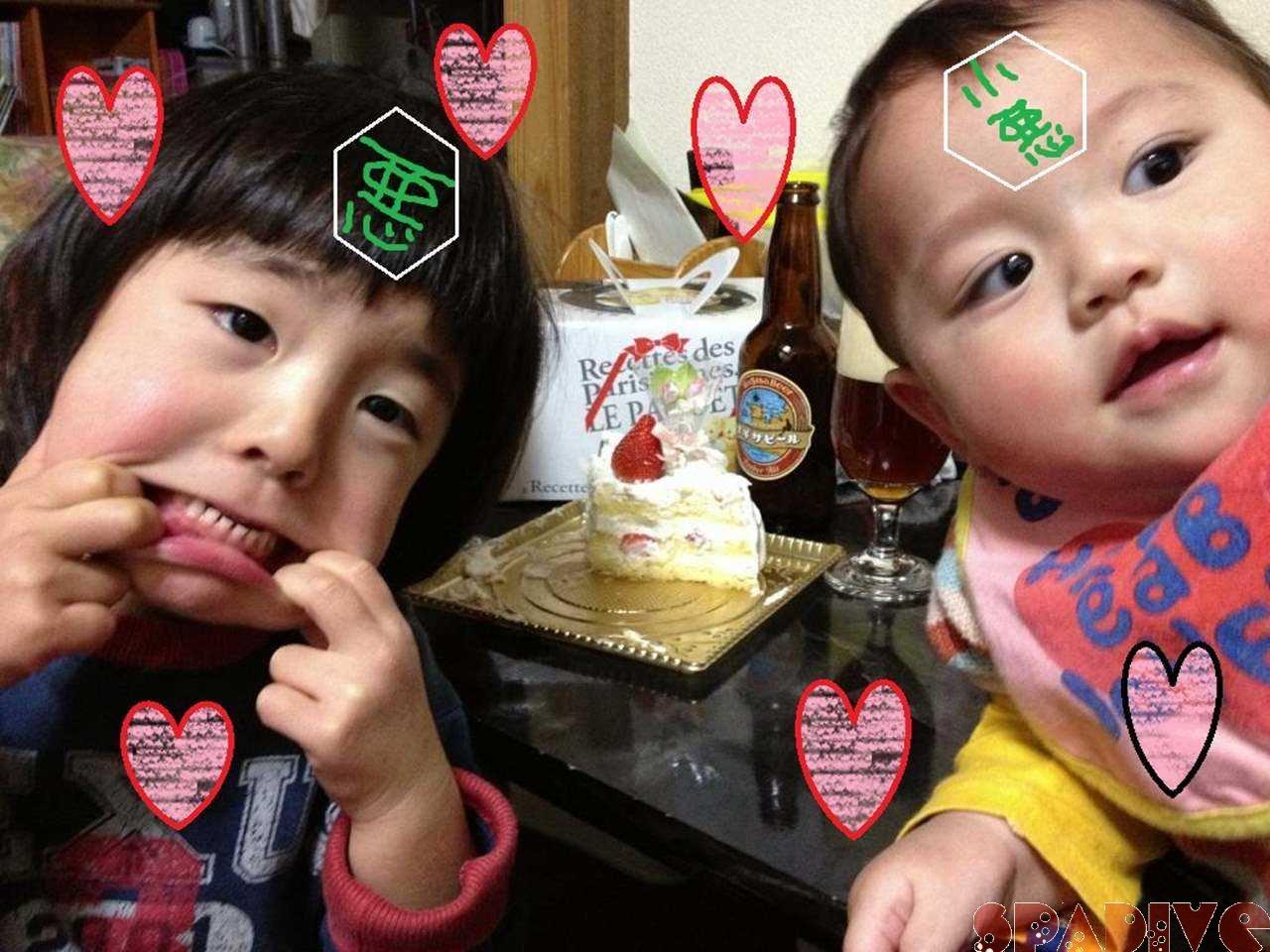北風ピュ~ピュ~!我が家の小悪魔ちゃん!1/26/2013