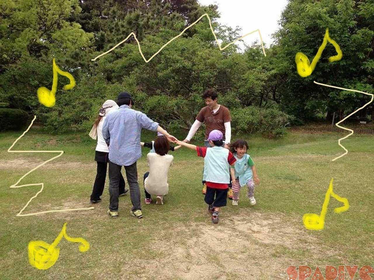 保育園親子遠足で平草原公園♪ 5/10/2013