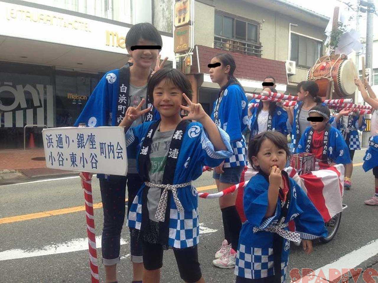 2015年熊野三所神社例大祭で子ども神輿|10月16-17日