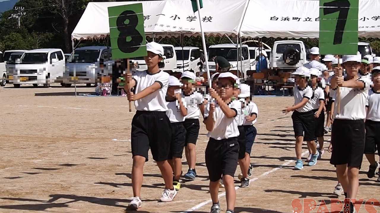 2020小学校運動会での長女画像