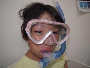 克服方法:水中呼吸でシュノーケルやレギュレータに水がよく入る人へ