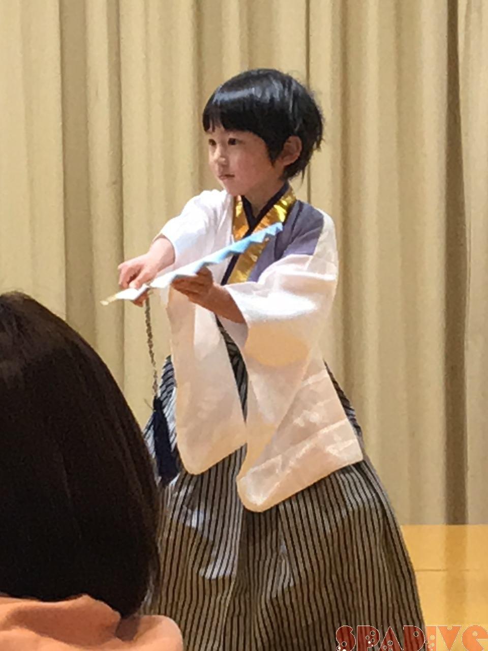 6歳長男最後の保育園発表会も制限開催|袴姿で男花♪2/5/2021
